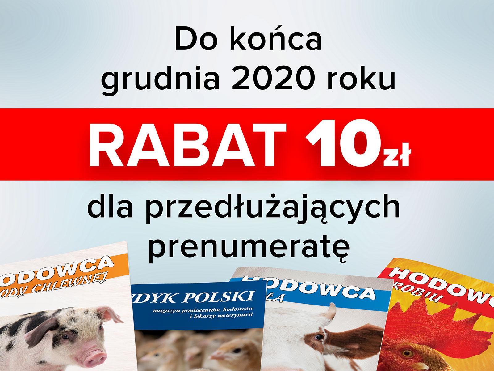 Rabat na prenumeratę 2021